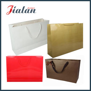 BSCI Supplier Printed Custom Wholesales Metallic Paper Bag pictures & photos