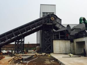 PSX-400/450 Recycling Scrap Metal Shredder Line pictures & photos