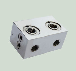 Precision CNC Machining Aluminum Part for Pneumatic Valve Body