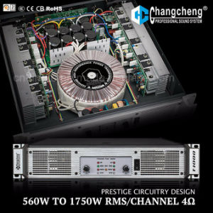 T Series High Quality Clear Professional Class H Power Amplifier pictures & photos