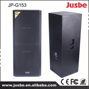 1600W Jp-G153 DJ Stage Speakers Dual 15 Inch Bass pictures & photos