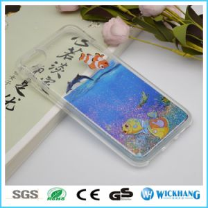 Cute Floating Swimming Liquid Rubber Water Case for iPhone 6 7 Plus pictures & photos