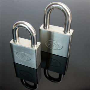Square Type Stainless Steel Padlock with Computer Key pictures & photos
