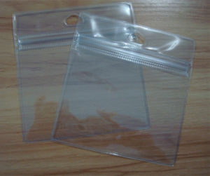 OEM High Quality Clear PVC Business Card Bag with Custom Size pictures & photos
