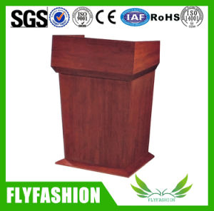 Wood Non-Sound Podiums and Speaker Stands Floor Lectern pictures & photos