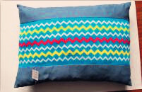 Color Wave Knitted Fabric Pet Mat Blue Pet Pillow pictures & photos