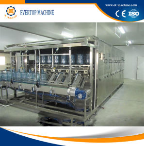 Full Automatic Rotary Barreled Drinking Water 5 Gallon Filling Machine pictures & photos