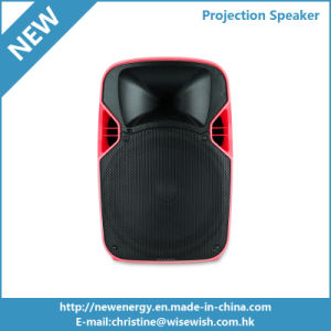12 Inches PA System Wireless Karaoke Speaker with LED Projector pictures & photos