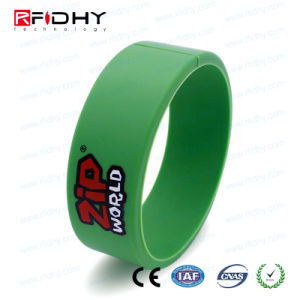 RFID IP68 Silicone Wristband Bracelet Watch Band Tag pictures & photos