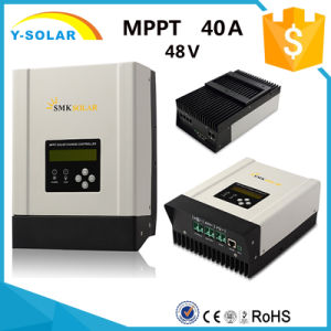 MPPT 40AMP 12V/24V/36V/48V RS485-Port Solar Controller Sch-40A-H pictures & photos