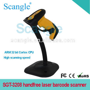 Portable Laser Barcode Scanner Handfree Scanner pictures & photos