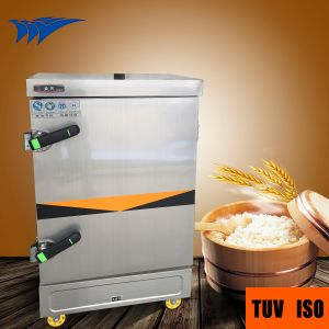 Top Rated 24 Pans Electric Rice Steaming Cabinet with Cheap Wholesale Price pictures & photos