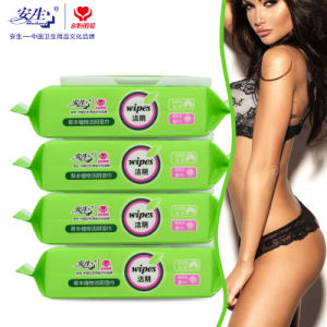 OEM China Factory Personal Care Feminine Wet Wipes pictures & photos