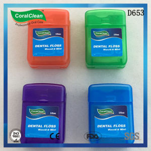 15m Waxed & Mint Square Dental Floss pictures & photos