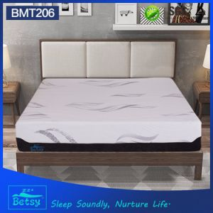 OEM Compressed Thin Foam Mattress 32cm High with Knitted Fabric Zipper Cover and Massage Wave Foam pictures & photos