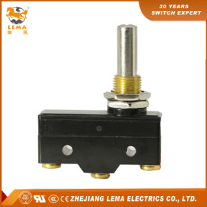 Lema Lz15-Gq8-B Panel Mount Long Plunger Micro Switch CCC Ce UL Approvals pictures & photos