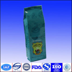 Tin tie coffee bags with valve pictures & photos