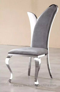 Special Luxury Design Hotel Furniture Colorful Fabric Dining Chair (B86) pictures & photos
