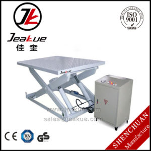 1000kg Immovable Hydraulic Lift Table pictures & photos