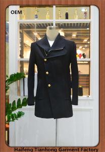 Fashion Coat for Man Black Leisure Jackets