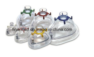 Inflatable Air Cushion Anesthesia Face Mask pictures & photos
