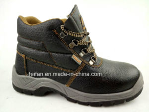 Genuine Leather Safety Shoes with Steel Toe and Plate pictures & photos