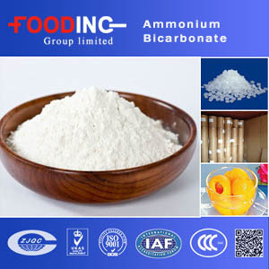 High Quality Preservatives Ammonium Bicarbonate Price Supplier pictures & photos