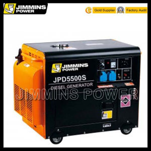 Hot Sale 100% Copper Wire 1kVA 2kVA 3kVA 4kVA 5kVA 6kVA 8kVA Portable Home Industrial Electric Gasoline/Diesel Generator Set Supper Silent (Soundproof) pictures & photos
