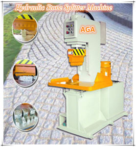 Hydraulic Stone Cutting Machine for Splitting Cobble/Paving Stone pictures & photos