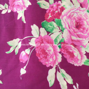 100%Polyester 90GSM288f Disperse Printed Fabric for Home Textile pictures & photos
