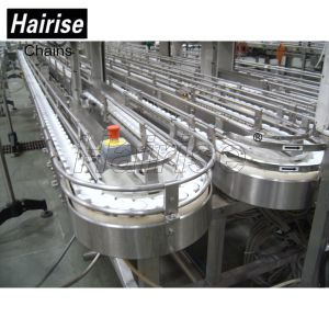 Plastic Free Flow Flex Belt Chain Plate Can Conveyor Systems pictures & photos