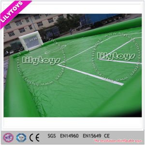 Popular Inflatable Soap Football Field Soccer Football Field for Sale pictures & photos