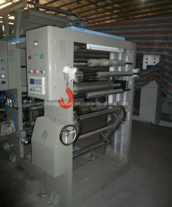 Shaft Type 6 Color Rotogravure Printing Machine for Film pictures & photos