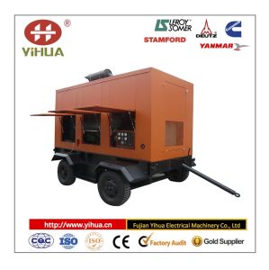 Cummins Trailer Movable Type Power Generator (10-1200KW) pictures & photos