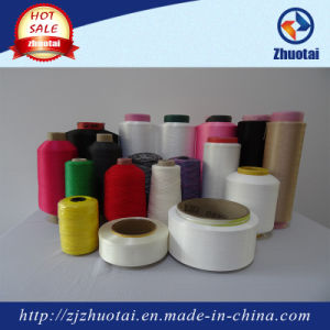 Twist Yarn Elastic Spandex Covered Nylon Yarn for Socks Seamless pictures & photos