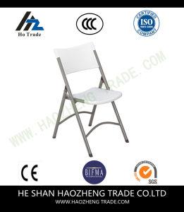 Hzpc179 Arm Less Folding Mesh Plastic Chair pictures & photos