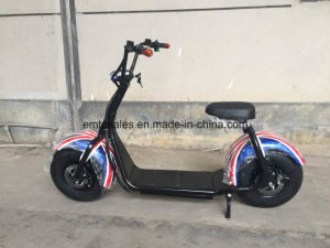 2016 Hottest SGS Verfied of City Coco Scooter with 60V 12ah Lithium Battery pictures & photos