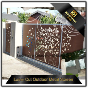 Decorative Color Power Coated Aluminum Villa Garden Fence pictures & photos