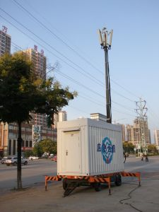 Mobile Station-Movable Small Telecommunication Vehicle pictures & photos