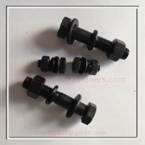 Carbon Steel High Quality Black Oxide Hex Head Cap Screws pictures & photos