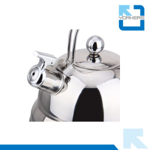 Fashionable 2.5L Stainless Steel Roman Kettle Whistle Kettles pictures & photos