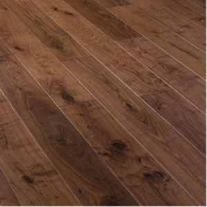 E0 Standard Engineered American Walnut Hardwood Flooring pictures & photos