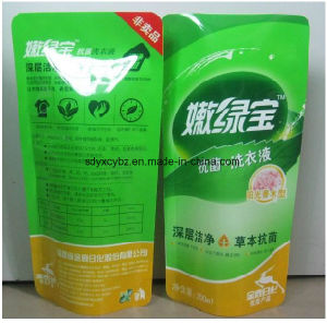 Plastic Packaging Printing Doypack with Spout for Laundry Detergent pictures & photos