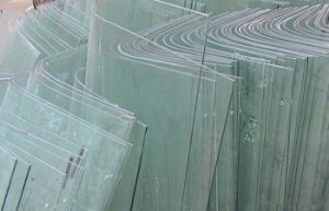 Clear Non-Tempered Curved Glass for Building and Furniture pictures & photos