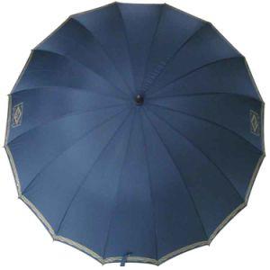 29inch 16panels Manual Open Fiberglass Golf Umbrella (GU028) pictures & photos