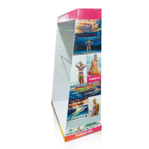 Cardboard Floor Display for Swimming Clothes, Corrugated Floor Pop Displays, pictures & photos