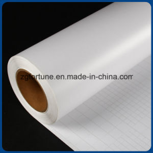 Professional Supplier Matte White Backing Paper Cold Lamination Transparent PVC Film pictures & photos