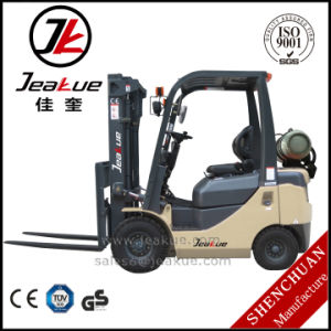 Hottest China Approved 1.5t Load Capacity LPG Forklift Truck pictures & photos