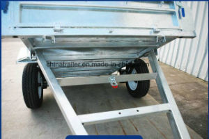 Single Axle Galvanised Utility Trailer with 900mm Cage pictures & photos