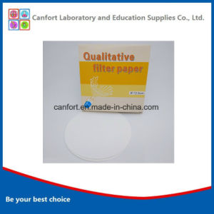 High Quality Qualitative Filter Paper (12.5cm) with Many Specifications pictures & photos